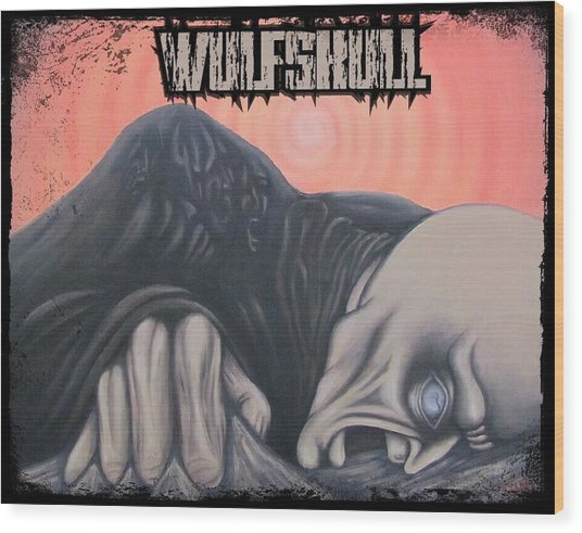 Wulfskull#4 Wood Print