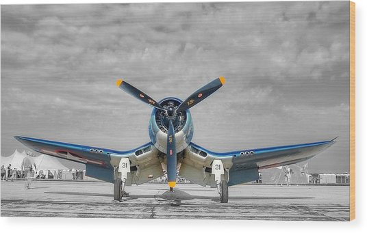 Ww II Fighter Plane 2 Wood Print