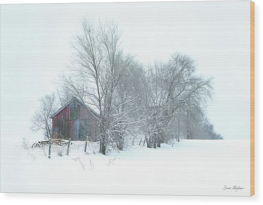 Wyeth Winter Wood Print
