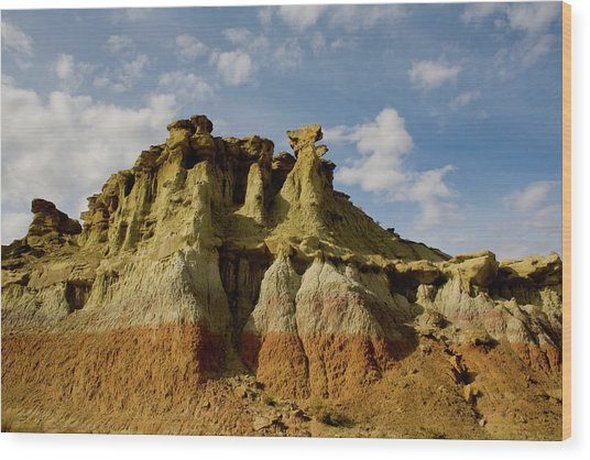 Wyoming Spirals Wood Print
