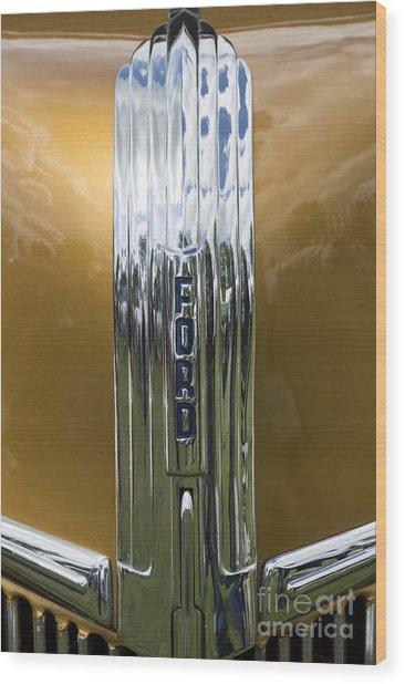 Ford 3 Wood Print