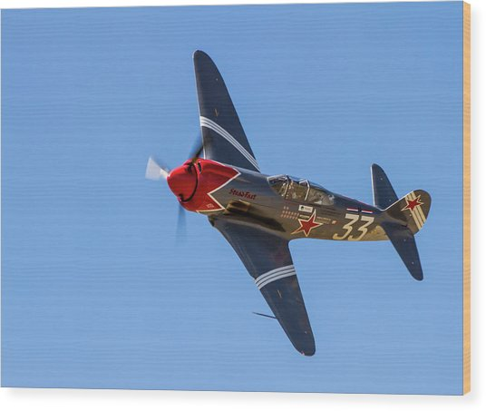 Yak 3 Steadfast Wood Print