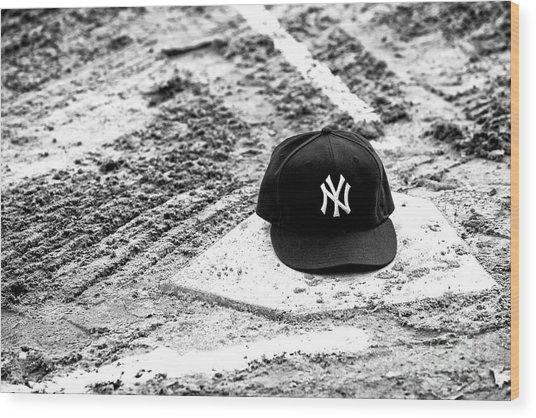 Yankees Home Wood Print