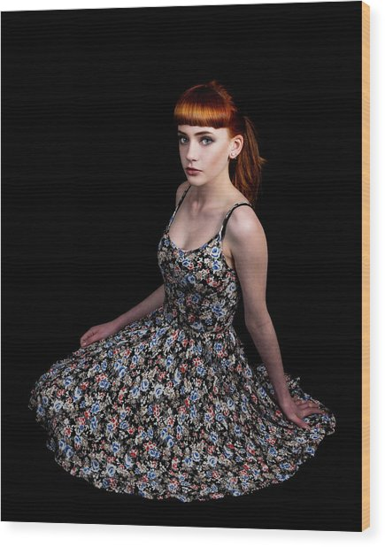 Yasmin Skirt Left Wood Print