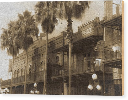 Ybor City Wood Print by Patrick  Flynn