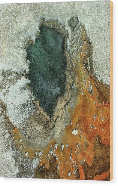 Yellowstone Landscape Wood Print