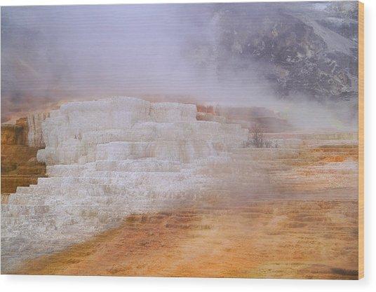 Yellowstone Magic Wood Print
