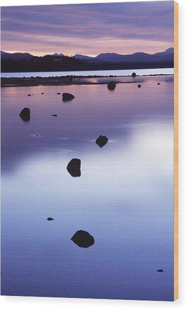 Yellowstone Morning Wood Print by Eric Foltz