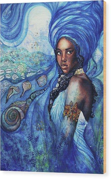 Yemoya Wood Print
