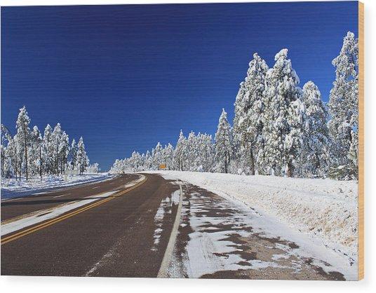 Yes Its Arizona Wood Print