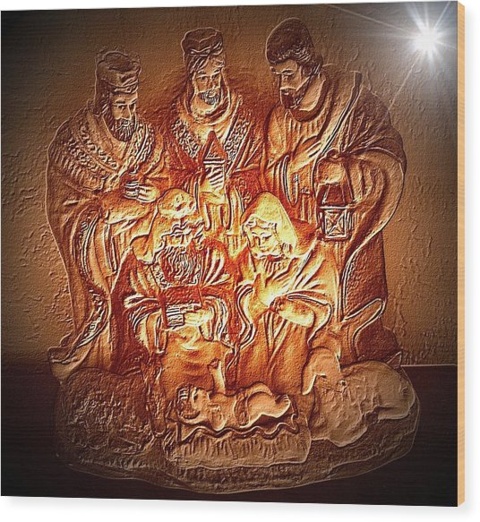 Yeshu'a  Wood Print