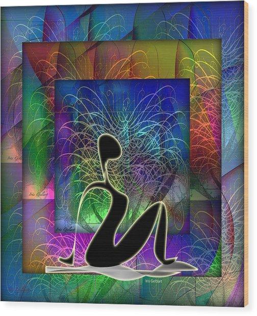 Yoga 6 Wood Print