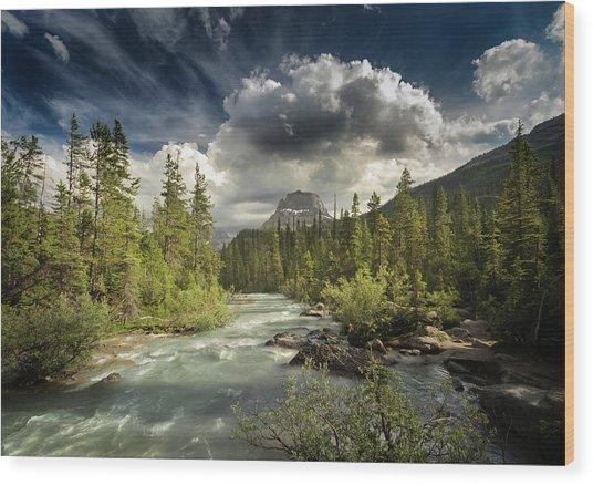 Yoho National Park Wood Print
