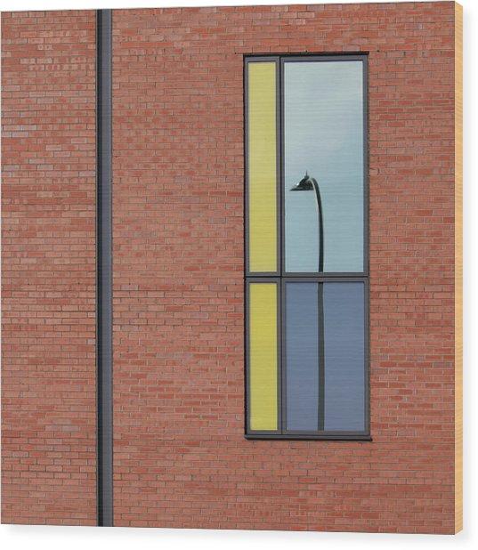 Yorkshire Windows 4 Wood Print