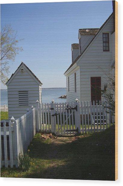 Yorktown Wood Print