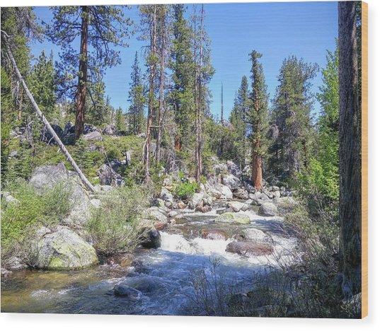 Yosemite Rough Ride Wood Print