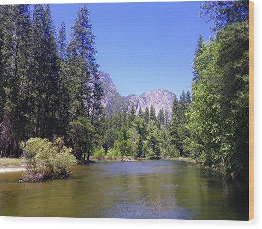 Yosemite Lifestyle Wood Print