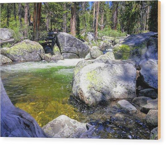 Yosemite Alive Wood Print