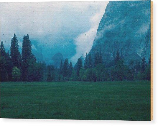 Yosemite Clouds II Wood Print by Chris Gudger
