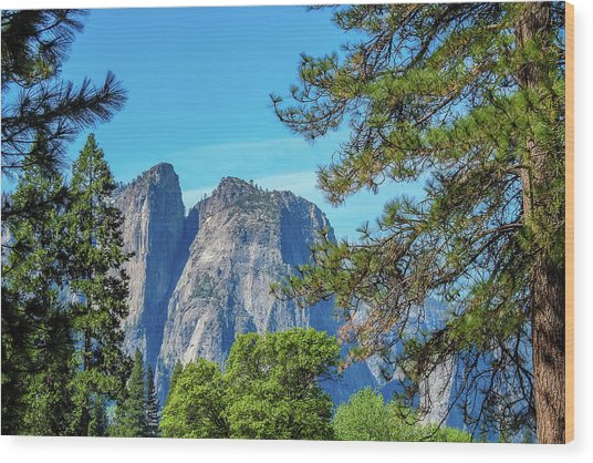Yosemite Morning Wood Print