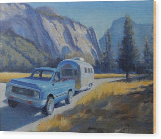 Yosemite Splendor Wood Print