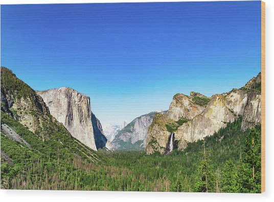Yosemite Valley- Wood Print