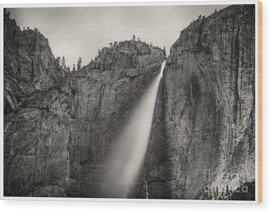 Yosemite Waterfall #2  Wood Print