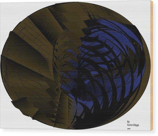 You Wood Print by Karen Diggs