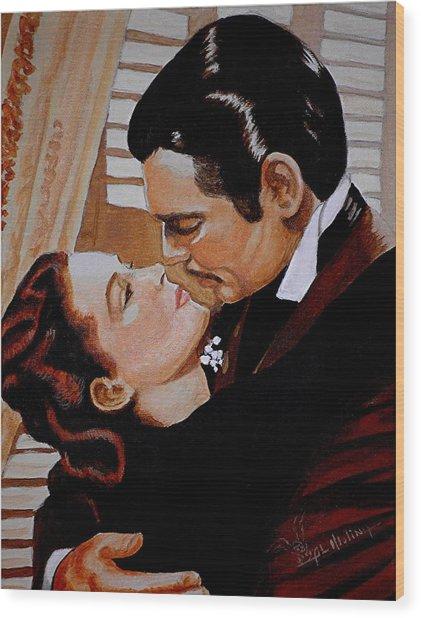 You Need Kissing Badly Wood Print