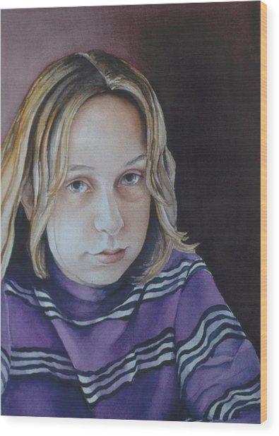 Young Mo Wood Print