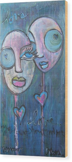 Your Haunted Heart And Me Wood Print