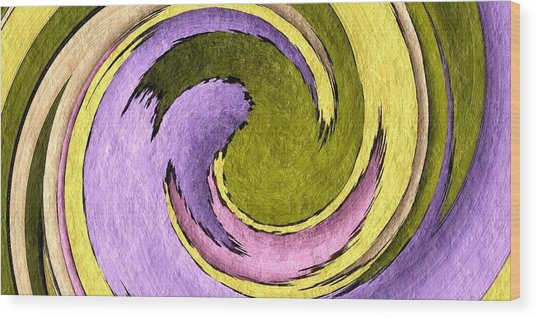 Your Ying To My Yang Wood Print by Terry Mulligan