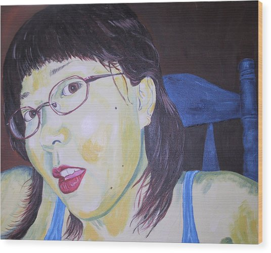 Yuka Wood Print by Kevin Callahan