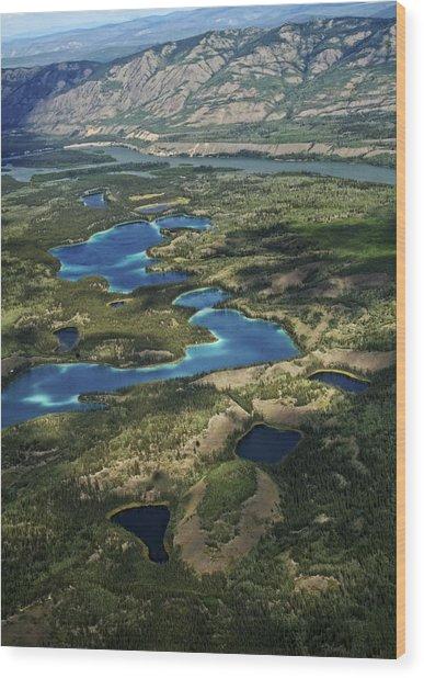 Yukon Territory Canada Wood Print