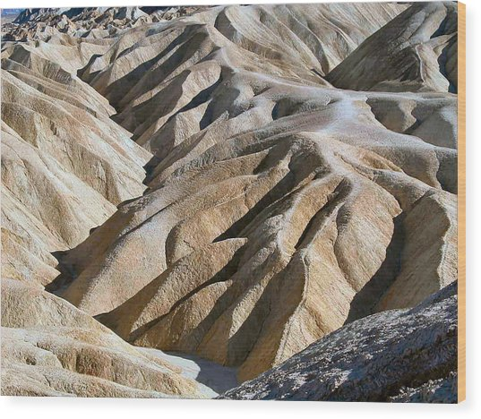 Zabriskie Point Wood Print by William Thomas