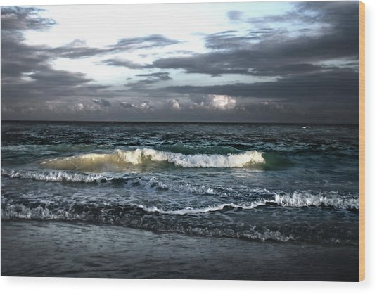 Zamas Beach #11 Wood Print