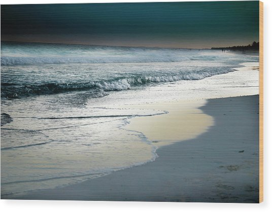 Zamas Beach #13 Wood Print