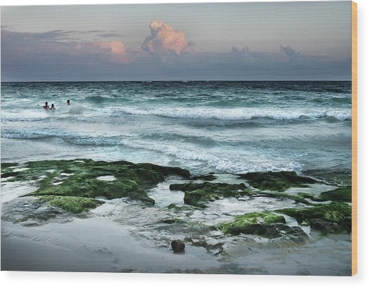Zamas Beach #7 Wood Print