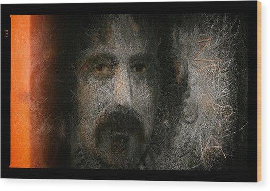 Zappa-the Deathless Horsie Wood Print