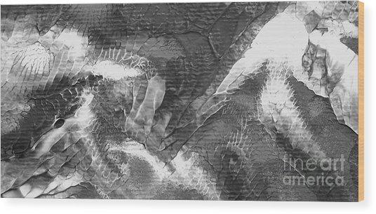 Zen Abstract A10115ajpg Wood Print
