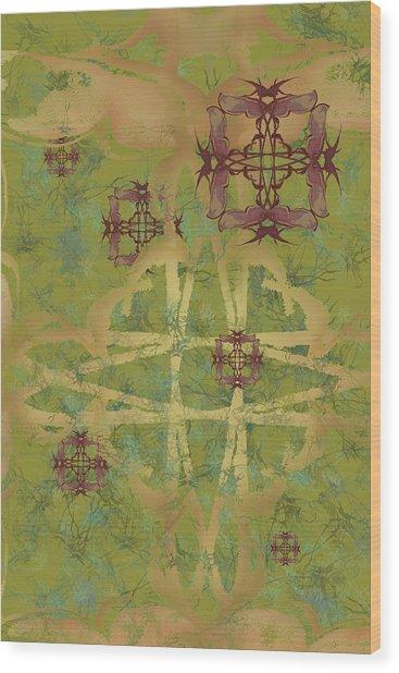 Zen Fly Colony Wood Print