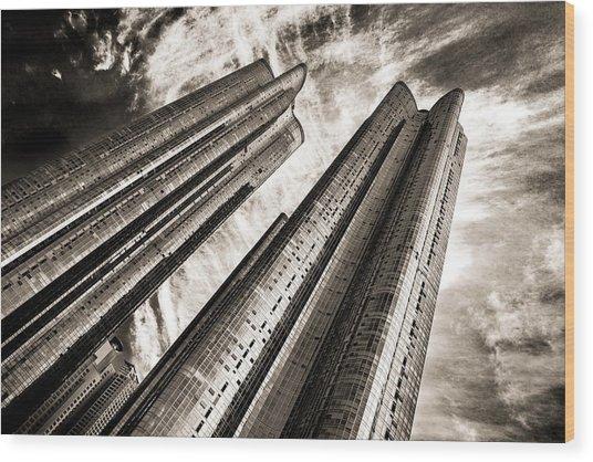 Zenith Towers Wood Print