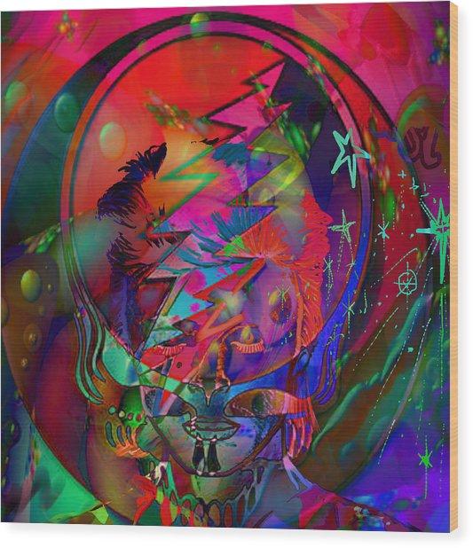 Ziggy  Wood Print
