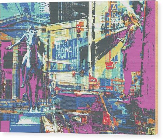Zone Wood Print by Shay Culligan