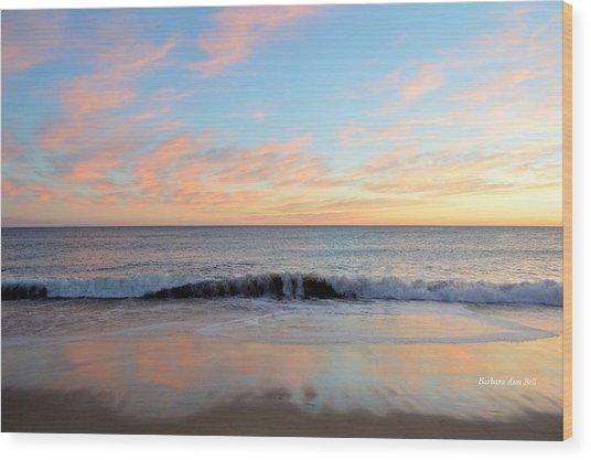 1/6/19 Obx Sunrise Wood Print