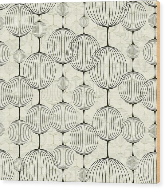 Abstract Seamless Pattern,  Background Wood Print