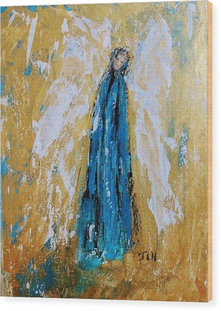 Angel Of Sympathy Wood Print