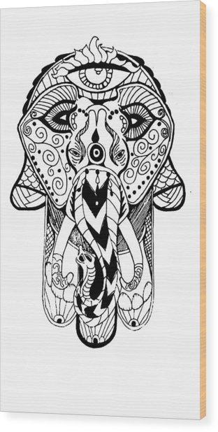 Artist Wood Print