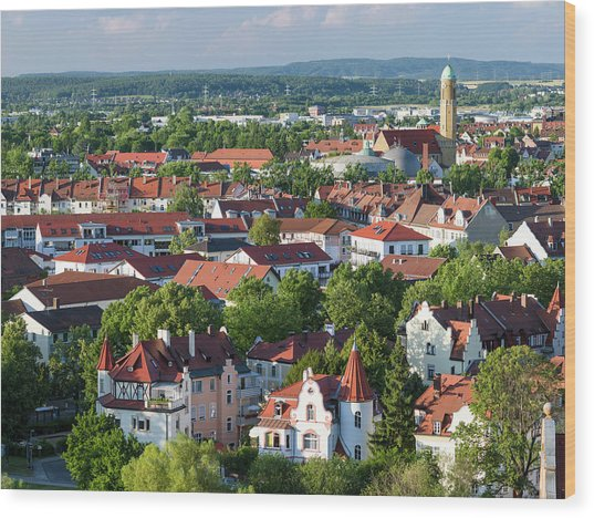 Bamberg In Franconia, A Part Of Bavaria Wood Print by Martin Zwick