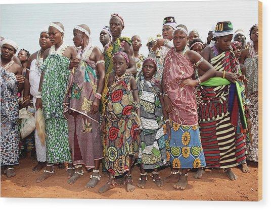 Benins Mysterious Voodoo Religion Is Wood Print by Dan Kitwood